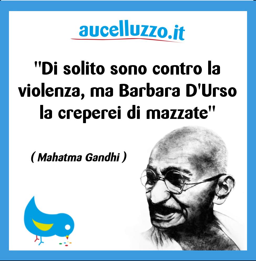 aucelluzzo Gandhi