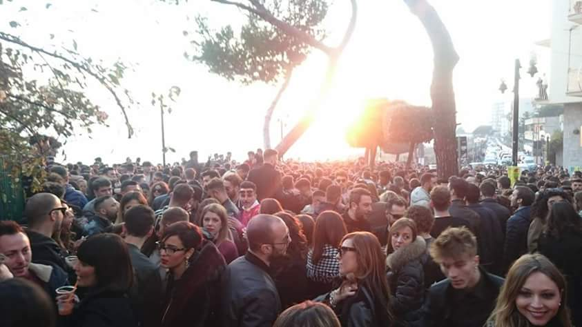 Vigilie in Curva. PUR CHEST' E' TRADIZIONE… (Torre Annunziata)