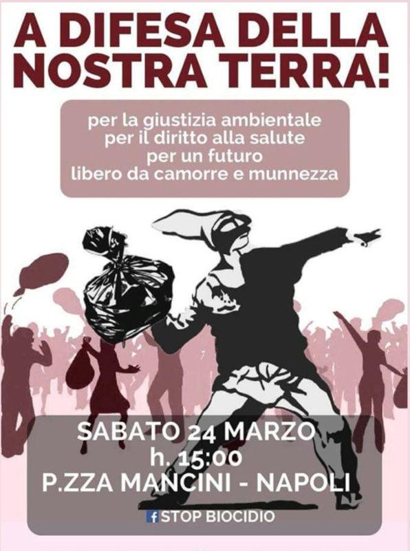 #Stopbiocidio: il corteo si prepara a sfiduciare Palazzo S. Lucia – 24 marzo 2018