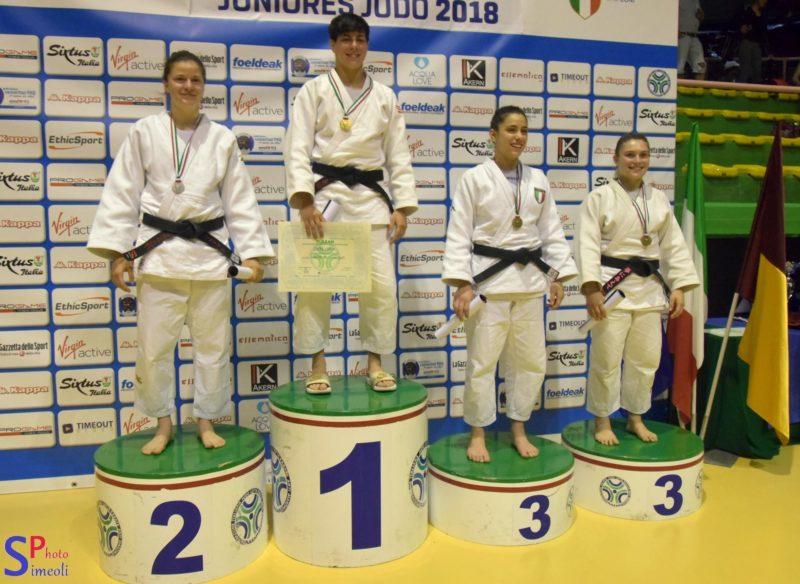 La Torrese Nadia Simeoli è Campionessa Italiana nella classe Junior (U21) 2018